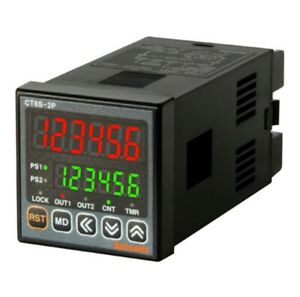 Programmable Timer Counter Ct6s 2p4 2 Stage Preset 6 digit Din W48xh48mm