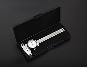 Accusize 4 X 0 001 Precision Dial Caliper Stainless Steel In Fitted Box