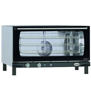 Cadco Xaf 183 Countertop Electric Convection Oven 3 Full Size Pan Capacity