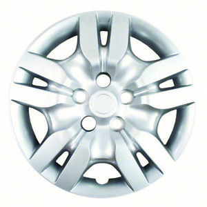 Open Box Set Of 4 16 Silver 10 Spoke Hubcaps For 09 10 Nissan Altima