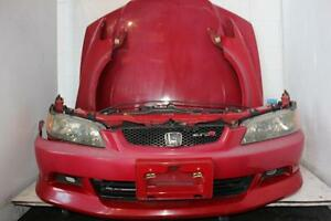 Jdm 98 02 Red Honda Accord Euro R Cl1 Front End Conversion H22a Euro R Nose