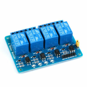 5v 12v 1 8 Channel Relay Module Optocoupler Isolated Low level Trigger 51avr Es