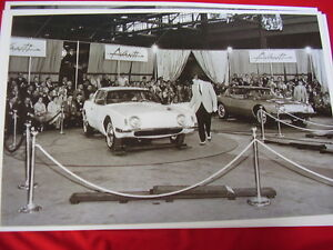 1963 Studebaker Avanti First Display At Factory 11 X 17 Photo Picture