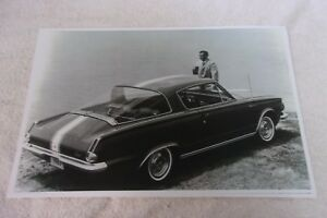 1965 Plymouth Barracuda 11 X 17 Photo Picture