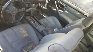 89 Iroc Z28 Cloth Camaro Bucket Front Rear Seats Coupe Grey Used