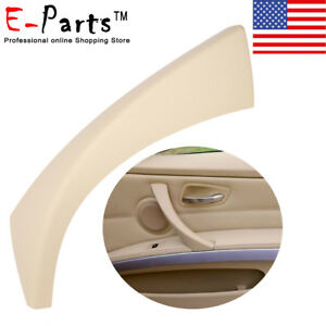 For Bmw E90 3 Series Sedan Right Inner Door Panel Handle Outer Trim Cover