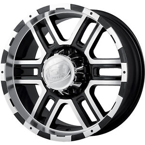 18x9 Black Alloy Ion Style 179 6x135 30 Rims Nitto Trail Grappler Lt295 70r18