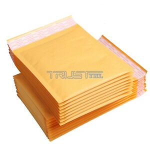 500 Pcs 000 5x7 Kraft Bubble Mailers Shipping Mailing Padded Bags Envelopes