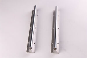 2pcs Sbr25 400 Fully Supported Slide Guide For Cnc Shaft Rod Linear Rail