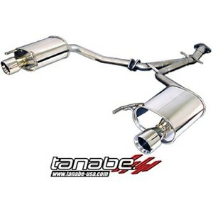 Tanabe T70113a Medalion Touring Exhaust System For 06 11 Lexus Is250 2wd Awd