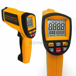 Us Seller Professional Digital Laser Gun Infrared Thermometer 392 3002