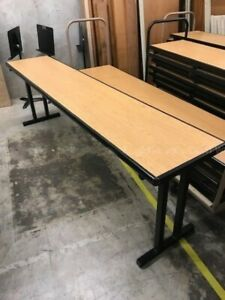 Closeout Surplus Cafeteria Tables Obo Can Ship Bulk