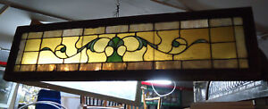 Vintage Stained Glass Window Panel 09262 Ns
