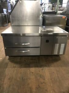 Beverage Air Wtrcs52 1 52 Commercial Refrigerated Chef Base Cooler Used
