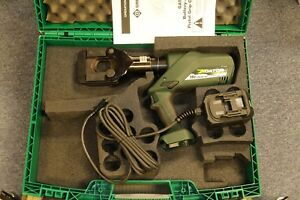 Greenlee Gator Hydraulic Acsr Cable Ground Rod Rebar Cutter 120v Power Adaptor