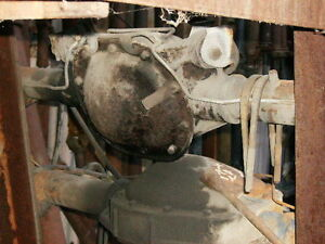 1985 Lincoln Continental Disc Type Rearend Assy