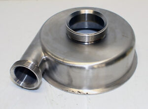 Stainless Steel Sanitary Pump Casing 2 x3 threaded new