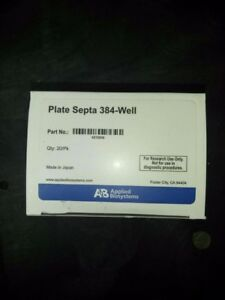Plate Septa 384 well From Applied Biosystems