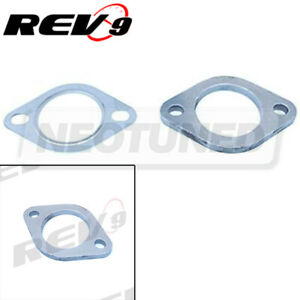 2 5 Mild Steel Stretch 2 Bolt Hole Exhaust Downpipe Muffler Turbo Flange Gasket