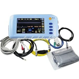 Handheld Portable Icu 5 para Patient Monitor Medical Monitor Instrument Sale