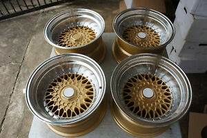For Ae86 Datsun Z31 Miata Mx5 Eg6 Jdm Rs Style 15 114 3 100x4 Wheels Lm Mesh