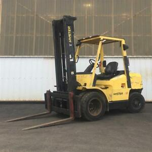 2000 Hyster 7500lb Forklift Dual Tire Perkins Diesel H70xm