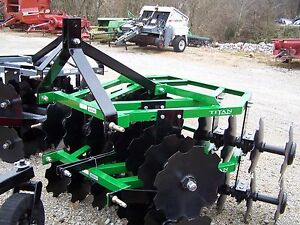 New 16x16 Titan 5 1 2 Ft 3 Point Disc Harrow we Can Ship Ask For A Quote