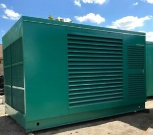 500kw Cummins Gta28 480v Natural Gas Generator S n 25271372