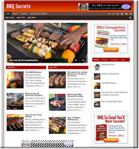 Cook Recipes Turnkey Website Business Earn From Affiliate Adsense