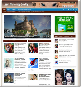 Learn Photoshop Turnkey Website Business Earn From Affiliate Adsense