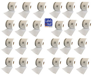 24 Rolls Of Dk 2205 Brother compatible continuous Labels 2205