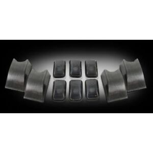 Recon 264160bk Smoked Cab Roof Lights For 2002 2010 Hummer H2