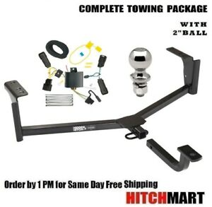 Trailer Hitch Package W 2 Ball For 2013 2019 Lincoln Mkz Except 3 0 Liter 60322