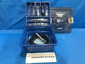 Stryker Core Drill Set 5400 120 Drill Set With Case And Attachments