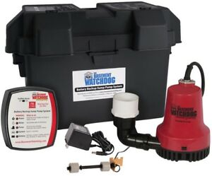 Basement Watchdog Emergency Battery Backup Sump Pump System