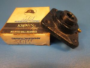 Mb Manufacturing Kfc4 25 3 4 Shaft 4 bolt Flange Bearing