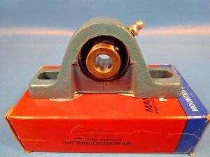 Mb Manufacturing C25 12 2 bolt Pillow Block Ball Bearing 1 2 Bore Setscrew