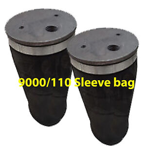 2 Tapered Sleeve Air Bags 1 2 Npt Port Air Ride Suspension Rolled Spring Xzx