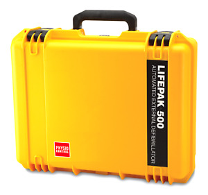 Physio control Hardshell Watertight Carrying Case For Lifepak 500 11998 000021
