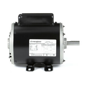 New Marathon 1 5hp Air Compressor Motor 3450rpm 56frame 115 230v 5kc49nn2044y