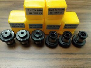 6 Ansi Rigid Tap Collets positive Drive P type Tap Adapters quick Change Style
