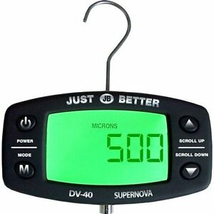 Jb Industries Dv 41 Supernova Digital Micron Gauge W Case And Ac Adapter