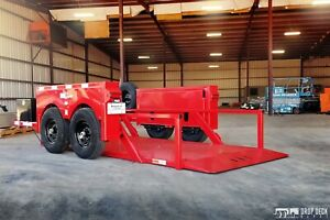 2018 Anderson Hgl10612 Hydraulic Drop Deck Scissor Lift Trailer 6 X 12