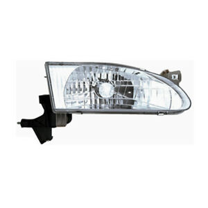 Fits 1998 2000 Toyota Corolla Passenger Right Side Headlight Lamp Assembly Rh