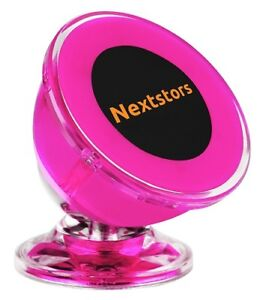 Car Sticky Dash Cell Phone Mount Holder Auto Accessories Pink