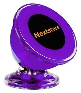 Car Sticky Dash Cell Phone Mount Holder Auto Accessories Purple