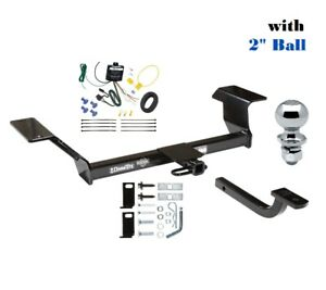 Class 2 Trailer Hitch Package W 2 Ball For 2000 2005 Buick Lesabre 90140