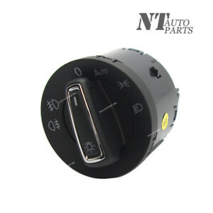 New Headlight Switch Auto Fuction Euro Drl For Vw Mk7 Golf Gti 2015 2017