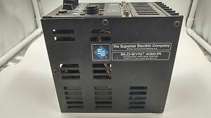 Superior Electric 430 pi Slo syn Indexer Motor Drive