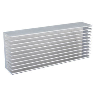 10 high Quality Aluminum Heat Sink For Electronics Computer Electric 100x40x20mm